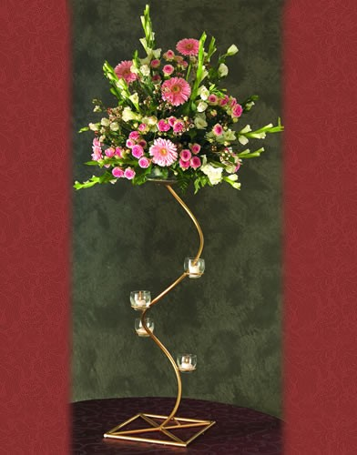 WS38 BASE:11 • HEIGHT: 30 Spiral  Candelabra