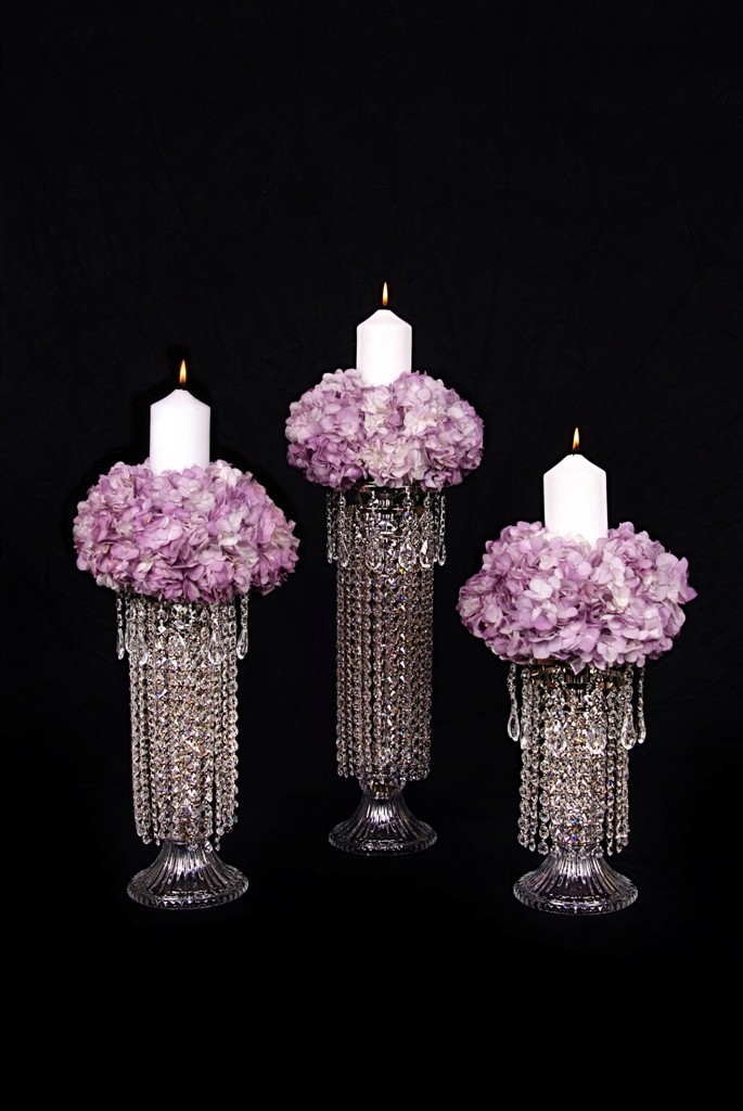 CD80  Crystal Candlesticks in 13