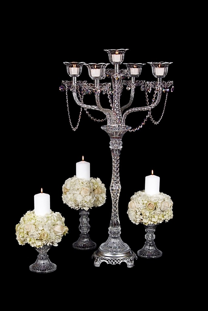 DHC80 Crystal centerpiece 38